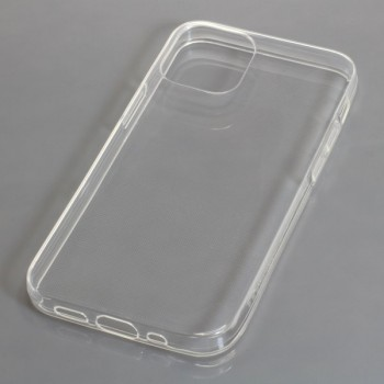 OTB TPU Case kompatibel zu Apple iPhone 12 Mini voll transparent